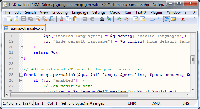QTranslate Support For »Google XML Sitemaps« Plugin